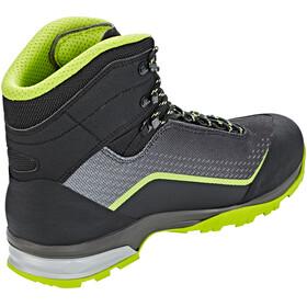 Lowa Irox GTX Mid Shoes Men black/lime